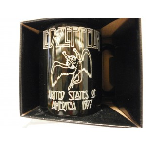 TAZZE  / MUG  - LED ZEPPELIN  UNTED  STATES  OF AMERICA 1977