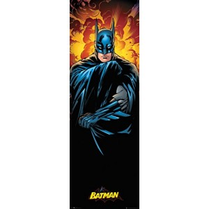 Dc Comics - Justice League Batman (Poster Da Porta 53x158 Cm)